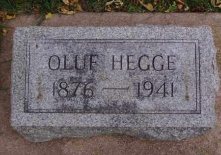 HEGGE, OLUF - Minnehaha County, South Dakota | OLUF HEGGE - South Dakota Gravestone Photos