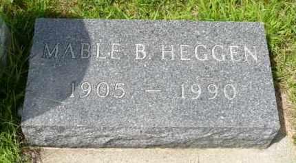 HEGGEN, MABLE B. - Minnehaha County, South Dakota | MABLE B. HEGGEN - South Dakota Gravestone Photos