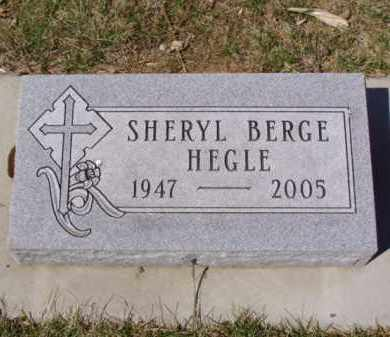BERGE HEGLE, SHERYL - Minnehaha County, South Dakota | SHERYL BERGE HEGLE - South Dakota Gravestone Photos