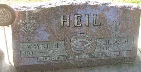 HEIL, WAYNE H. - Minnehaha County, South Dakota | WAYNE H. HEIL - South Dakota Gravestone Photos