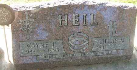 HEIL, WAYNE H. - Minnehaha County, South Dakota | WAYNE H. HEIL - South Dakota Gravestone Photos