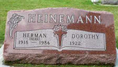 "HEINEMANN, HERMAN ""HERB"" - Minnehaha County, South Dakota | HERMAN ""HERB"" HEINEMANN - South Dakota Gravestone Photos"