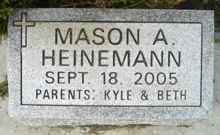 HEINEMANN, MASON A. - Minnehaha County, South Dakota | MASON A. HEINEMANN - South Dakota Gravestone Photos