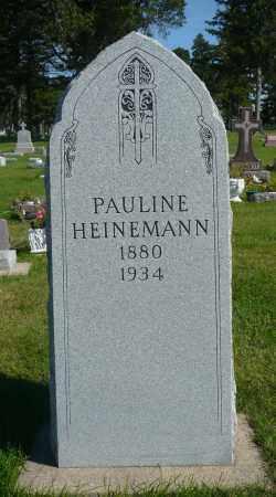 HEINEMANN, PAULINE - Minnehaha County, South Dakota   PAULINE HEINEMANN - South Dakota Gravestone Photos