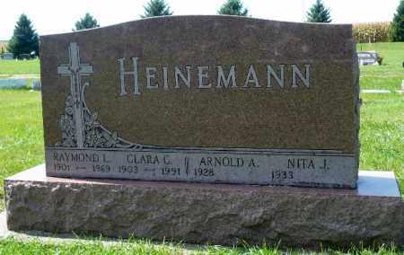 HEINEMANN, RAYMOND L. - Minnehaha County, South Dakota | RAYMOND L. HEINEMANN - South Dakota Gravestone Photos