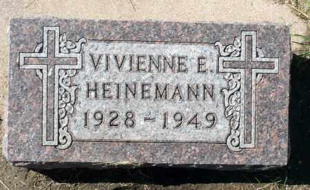 HEINEMANN, VIVIENNE E. - Minnehaha County, South Dakota | VIVIENNE E. HEINEMANN - South Dakota Gravestone Photos