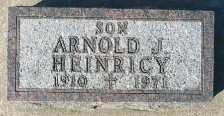 HEINRICY, ARNOLD J. - Minnehaha County, South Dakota | ARNOLD J. HEINRICY - South Dakota Gravestone Photos