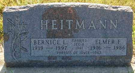 HEITMANN, BERNICE L. - Minnehaha County, South Dakota | BERNICE L. HEITMANN - South Dakota Gravestone Photos