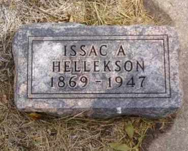 HELLEKSON, ISSAC A. - Minnehaha County, South Dakota | ISSAC A. HELLEKSON - South Dakota Gravestone Photos