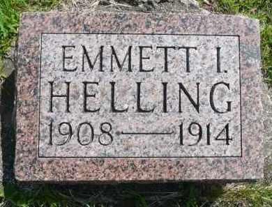 HELLING, EMMETT I. - Minnehaha County, South Dakota | EMMETT I. HELLING - South Dakota Gravestone Photos