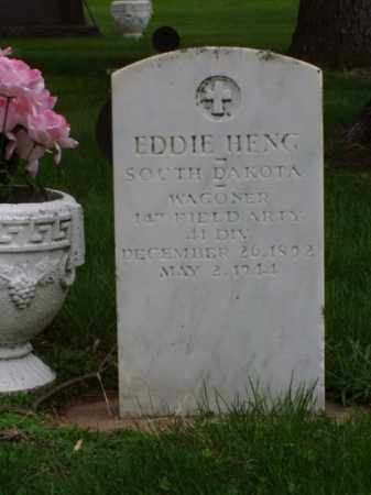 HENG, EDDIE - Minnehaha County, South Dakota | EDDIE HENG - South Dakota Gravestone Photos
