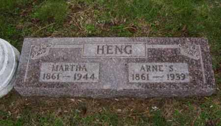 HENG, MARTHA - Minnehaha County, South Dakota | MARTHA HENG - South Dakota Gravestone Photos