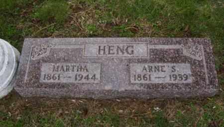 HENG, ARNE S. - Minnehaha County, South Dakota | ARNE S. HENG - South Dakota Gravestone Photos
