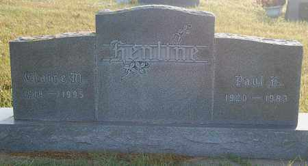 HENLINE, CLAIRE M. - Minnehaha County, South Dakota | CLAIRE M. HENLINE - South Dakota Gravestone Photos