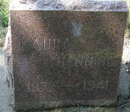 HENNING, LAURA - Minnehaha County, South Dakota | LAURA HENNING - South Dakota Gravestone Photos