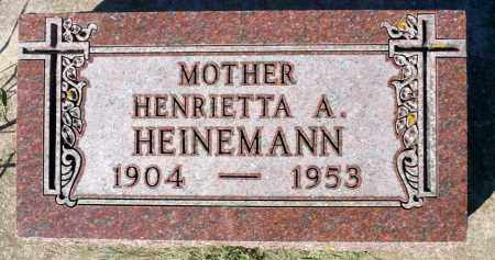 DERUE HERINEMANN, HENRIETTA A. - Minnehaha County, South Dakota | HENRIETTA A. DERUE HERINEMANN - South Dakota Gravestone Photos