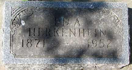 HERKENHEIN, IDA - Minnehaha County, South Dakota | IDA HERKENHEIN - South Dakota Gravestone Photos