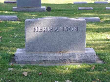 HERMANSON, FAMILY MARKER - Minnehaha County, South Dakota | FAMILY MARKER HERMANSON - South Dakota Gravestone Photos