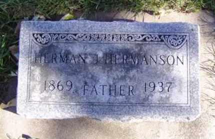 HERMANSON, HERMAN - Minnehaha County, South Dakota | HERMAN HERMANSON - South Dakota Gravestone Photos
