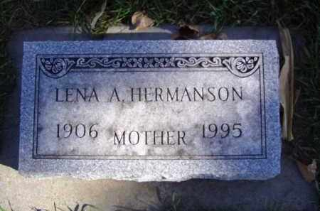 HERMANSON, LENA A. - Minnehaha County, South Dakota   LENA A. HERMANSON - South Dakota Gravestone Photos