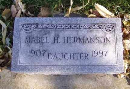 HERMANSON, MABEL H. - Minnehaha County, South Dakota | MABEL H. HERMANSON - South Dakota Gravestone Photos