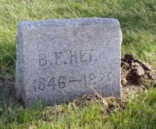 HERR, BENJAMIN F. - Minnehaha County, South Dakota | BENJAMIN F. HERR - South Dakota Gravestone Photos