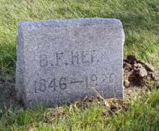 HERR, BENJAMIN F. - Minnehaha County, South Dakota   BENJAMIN F. HERR - South Dakota Gravestone Photos