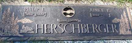 ROBB HERSCHBERGER, JUNICE E. - Minnehaha County, South Dakota | JUNICE E. ROBB HERSCHBERGER - South Dakota Gravestone Photos