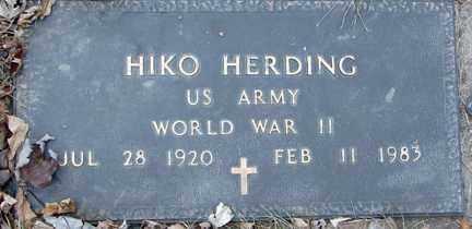 HERDING, HIKO (WWII) - Minnehaha County, South Dakota | HIKO (WWII) HERDING - South Dakota Gravestone Photos