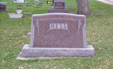 HESS, FAMILY MARKER - Minnehaha County, South Dakota   FAMILY MARKER HESS - South Dakota Gravestone Photos