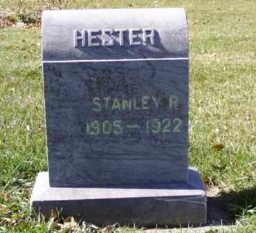 HESTER, STANLEY - Minnehaha County, South Dakota   STANLEY HESTER - South Dakota Gravestone Photos