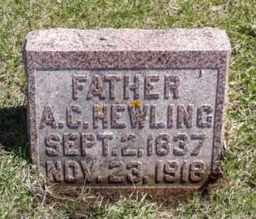 HEWLING, ALEXANDER C. - Minnehaha County, South Dakota   ALEXANDER C. HEWLING - South Dakota Gravestone Photos