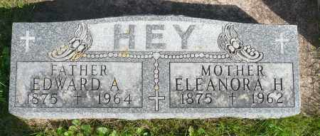 HEY, ELEANORA H. - Minnehaha County, South Dakota | ELEANORA H. HEY - South Dakota Gravestone Photos
