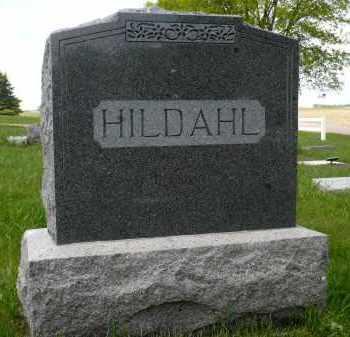 HILDAHL, FAMILY MARKER - Minnehaha County, South Dakota | FAMILY MARKER HILDAHL - South Dakota Gravestone Photos