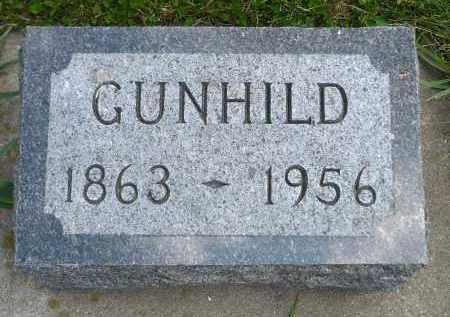 HILDAHL, GUNHILD - Minnehaha County, South Dakota | GUNHILD HILDAHL - South Dakota Gravestone Photos