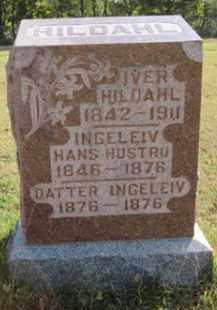 HILDAHL, IVER - Minnehaha County, South Dakota | IVER HILDAHL - South Dakota Gravestone Photos