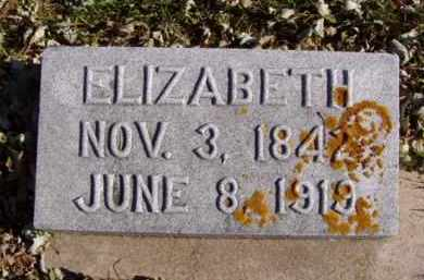 HILL, ELIZABETH - Minnehaha County, South Dakota   ELIZABETH HILL - South Dakota Gravestone Photos