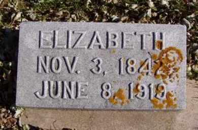 HILL, ELIZABETH - Minnehaha County, South Dakota | ELIZABETH HILL - South Dakota Gravestone Photos