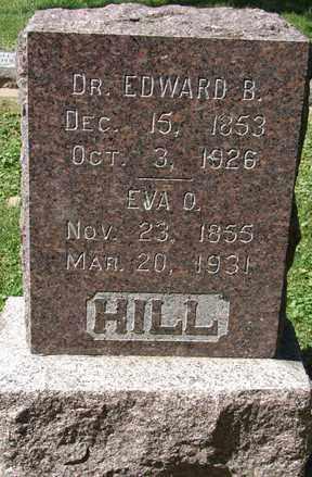 HILL, EVA D. - Minnehaha County, South Dakota   EVA D. HILL - South Dakota Gravestone Photos