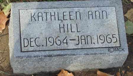 HILL, KATHEEN ANN - Minnehaha County, South Dakota   KATHEEN ANN HILL - South Dakota Gravestone Photos