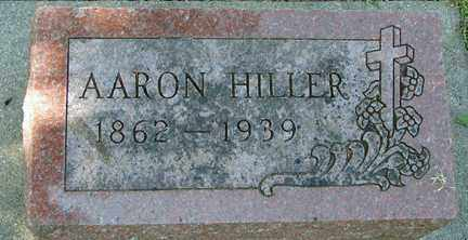 HILLER, AARON - Minnehaha County, South Dakota | AARON HILLER - South Dakota Gravestone Photos