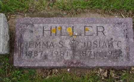 HILLER, EMMA S. - Minnehaha County, South Dakota | EMMA S. HILLER - South Dakota Gravestone Photos