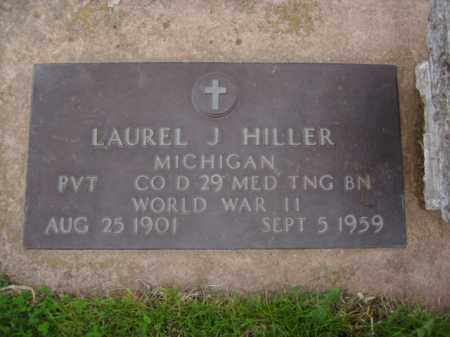 HILLER, LAUREL J. - Minnehaha County, South Dakota | LAUREL J. HILLER - South Dakota Gravestone Photos