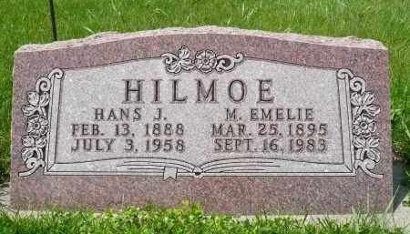 HILMOE, HANS J. - Minnehaha County, South Dakota | HANS J. HILMOE - South Dakota Gravestone Photos