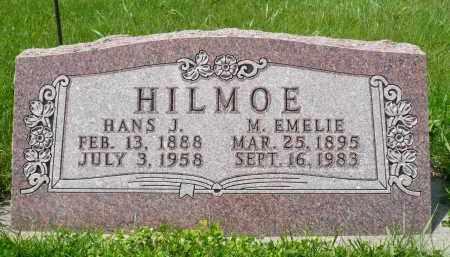 HILMOE, HANS J. - Minnehaha County, South Dakota   HANS J. HILMOE - South Dakota Gravestone Photos