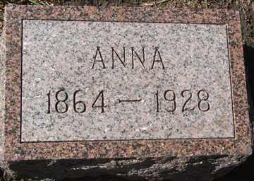 HILTGEN, ANNA - Minnehaha County, South Dakota | ANNA HILTGEN - South Dakota Gravestone Photos