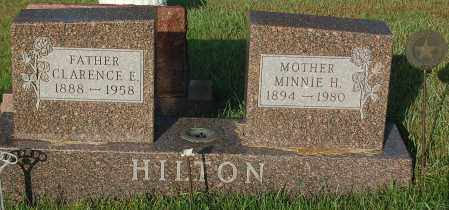 HILTON, CLARENCE E. - Minnehaha County, South Dakota | CLARENCE E. HILTON - South Dakota Gravestone Photos