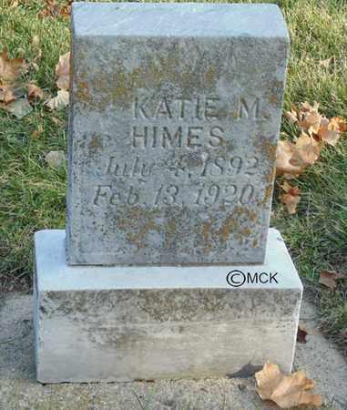 HIMES, KATIE M. - Minnehaha County, South Dakota | KATIE M. HIMES - South Dakota Gravestone Photos