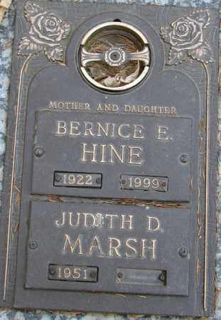 MARSH, JUDITH D. - Minnehaha County, South Dakota | JUDITH D. MARSH - South Dakota Gravestone Photos