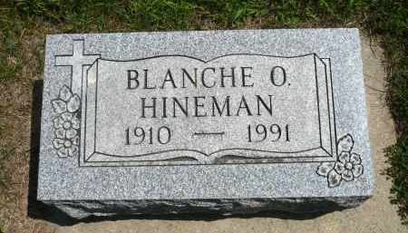 HINEMAN, BLANCHE O. - Minnehaha County, South Dakota | BLANCHE O. HINEMAN - South Dakota Gravestone Photos